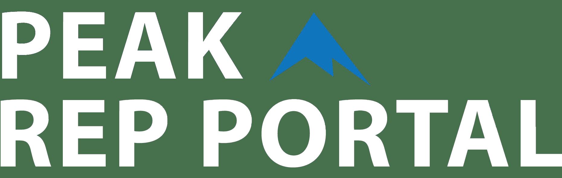 PEAK Rep Portal